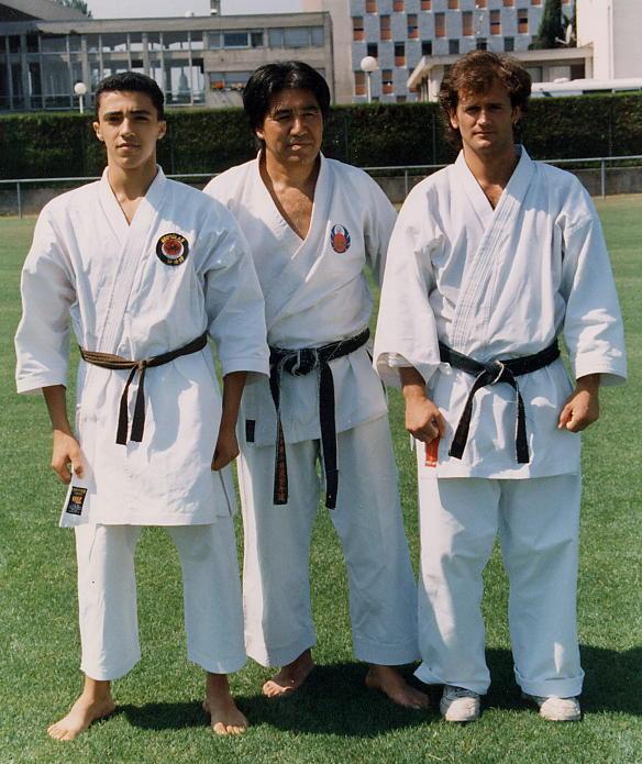 Con Kenyu Chinen sensei, 1995