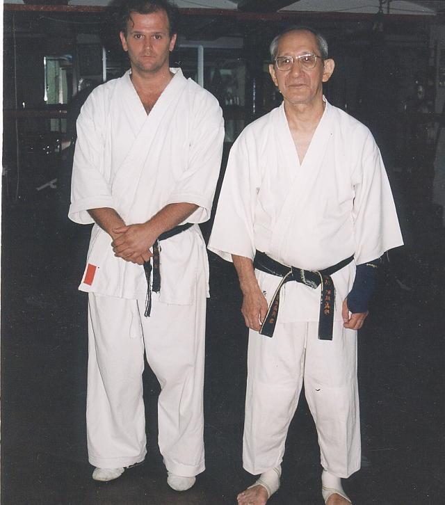 Con Harada sensei, Gibraltar