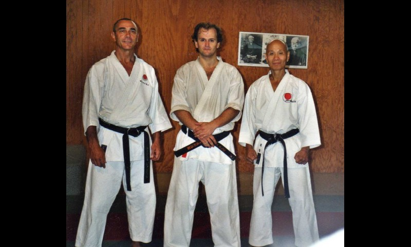 Con Ochi y JP Fischer sensei, Lembrun