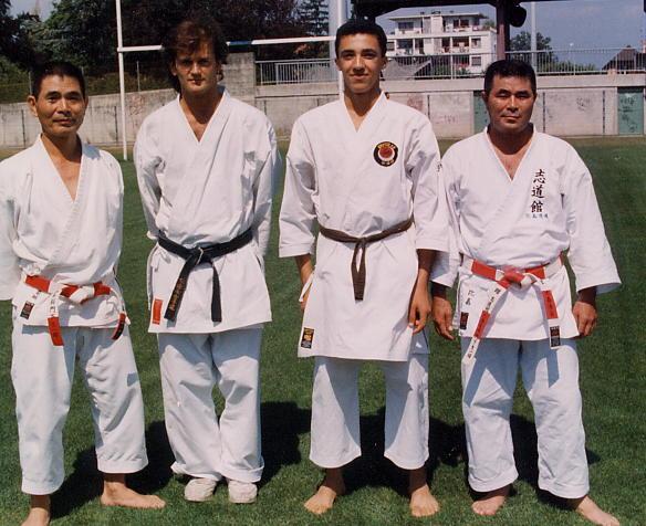 Con maeshiro y Higa sensei