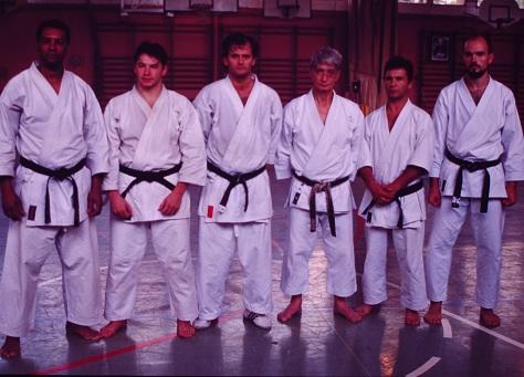 Con Nishiyama sensei. Barcelona 1998