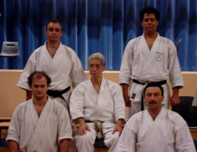 Con Nishiyama sensei Paris, 2006